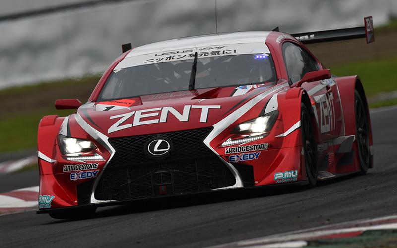 Rd.4 決勝GT500:滑りやすい路面をチャンピオンが激走! ZENT CERUMO RC Fが今季初優勝!!の画像