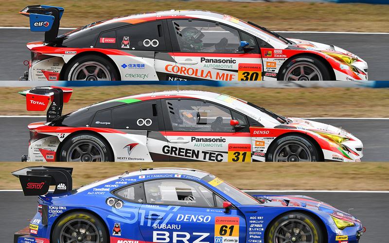 【2017開幕特集】SUPER GTマシン総覧 5 GT300/JAF-GT300の画像