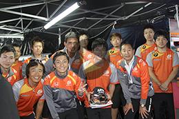 ☆高校生がSUPER GTのメカニック体験!☆2016 ZF KIDS DREAM JOB