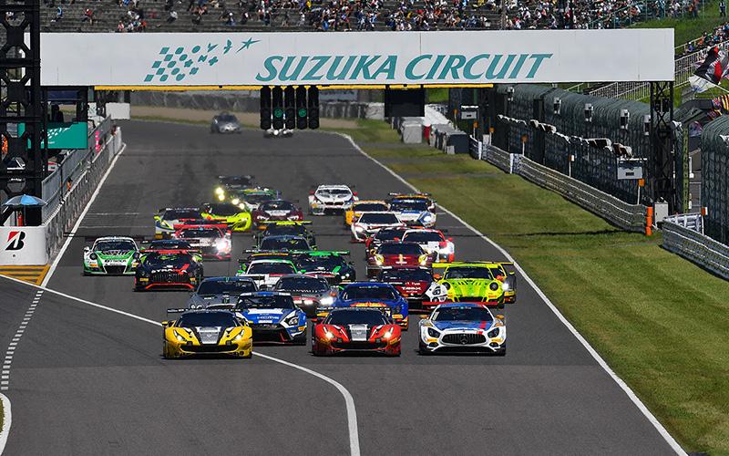 【鈴鹿10H:決勝】グッドスマイルAMGの谷口/片岡/小林組が予選21位から日本勢最高の5位に!Audi Team Hitotsuyamaも8位となるの画像