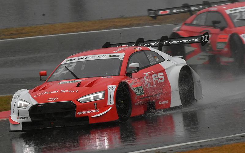 【特別交流戦:公式練習 2】引き続きの雨、Modulo Epson NSX-GTがGT500最速に。午後の公式練習はDTMのアウディがワン・ツーの画像