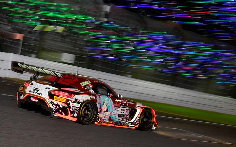 【SUZUKA 10H】Mercedes-AMG Team Goodsmileが総合10位でSGT賞1位に!松田次生が激走のGT-Rは総合6位でアジア賞1位を獲得の画像