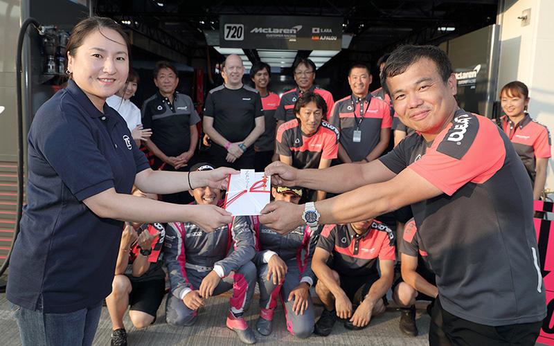 """2019年第5戦の""""ZF Award""""は、GT300クラス No.720 McLaren Customer Racing Japanが受賞の画像"""