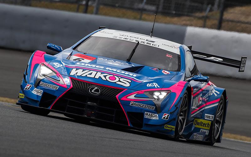 【公式テスト富士・2日目】最終目はWAKO'S 4CR LC500がトップタイム。GT300はRUNUP RIVAUX GT-Rが最速にの画像
