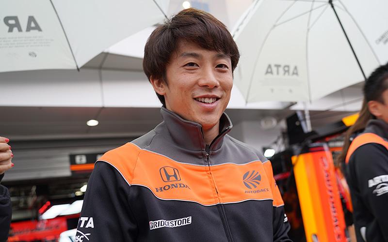 """SUPER GTドライバーの""""ずばり答えましょう!"""" <br>第6回 No.8 ARTA NSX-GT/伊沢拓也の画像"""