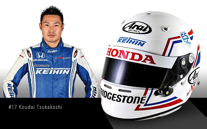 SUPER GTドライバーヘルメット図解【第6回】塚越広大の画像