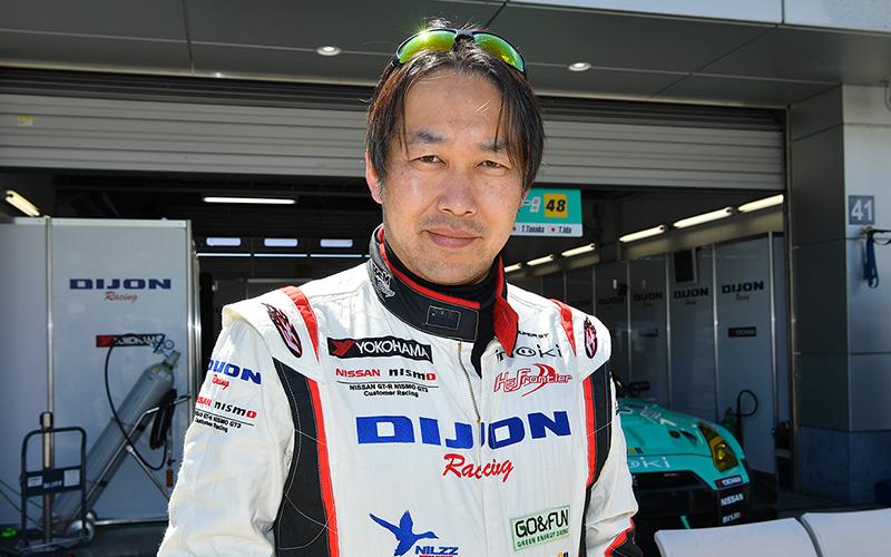 "SUPER GTドライバーの""ずばり答えましょう!"" <br>第32回 No.48 植毛 GT-R/飯田太陽の画像"