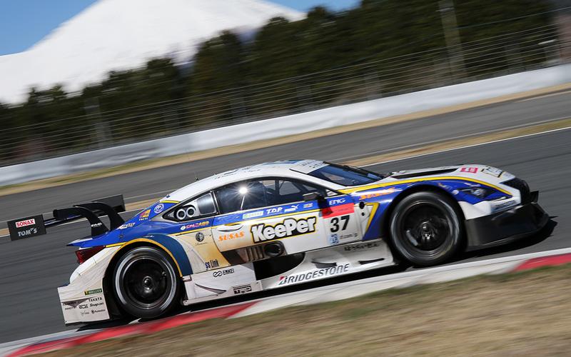 【メーカーテスト富士・2日目】KeePer TOM'S RC Fが1番時計!GT300はフェラーリがトップの画像