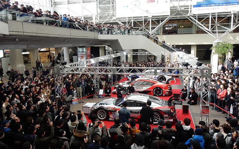 """大阪オートメッセ2017 """"SUPER GT featuring OSAKA AUTOMESSE"""" イベント情報の画像"""