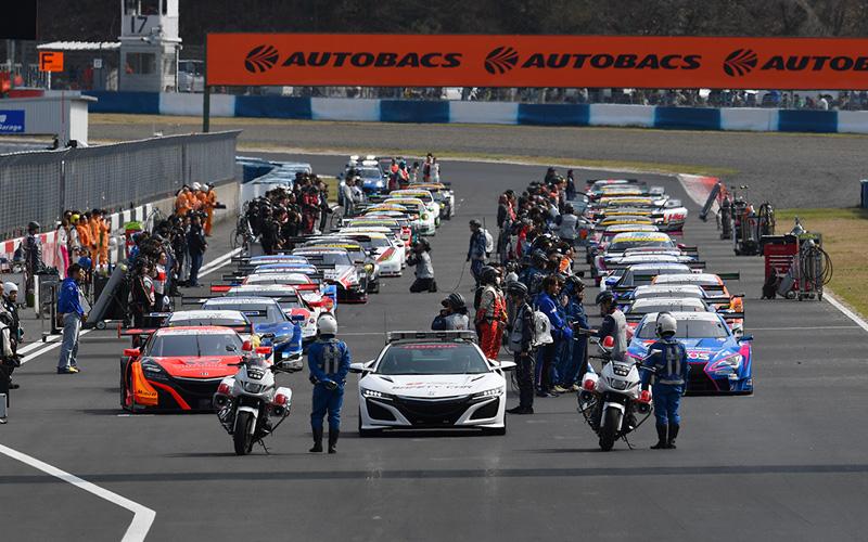 【2018年SUPER GTルール改定のポイント】今季はスタート隊列を厳格化の画像