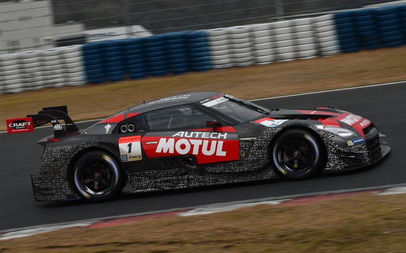 【公式テスト岡山・2日目】MOTUL AUTECH GT-Rが最速!GT300はGAINER SLSがパーフェクトの画像