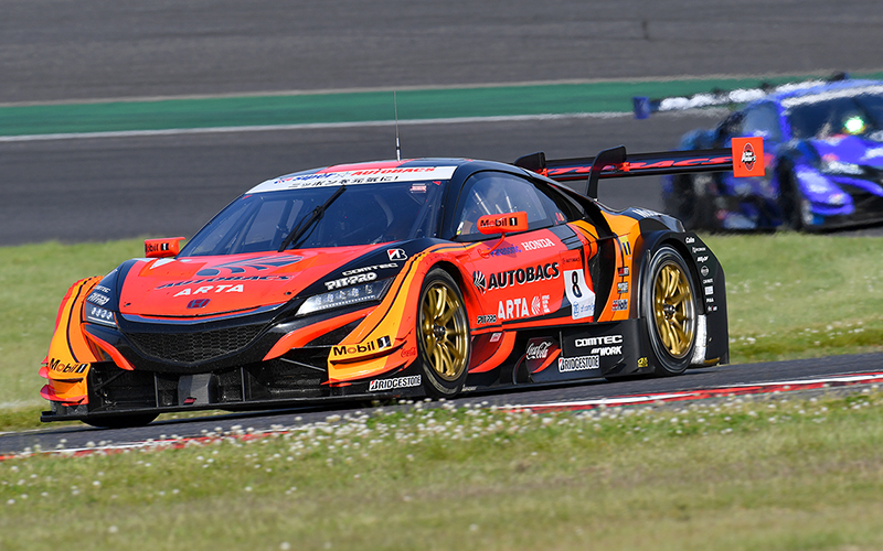 ARTA NSX-GT runs from Pole Position to first win of the season!の画像