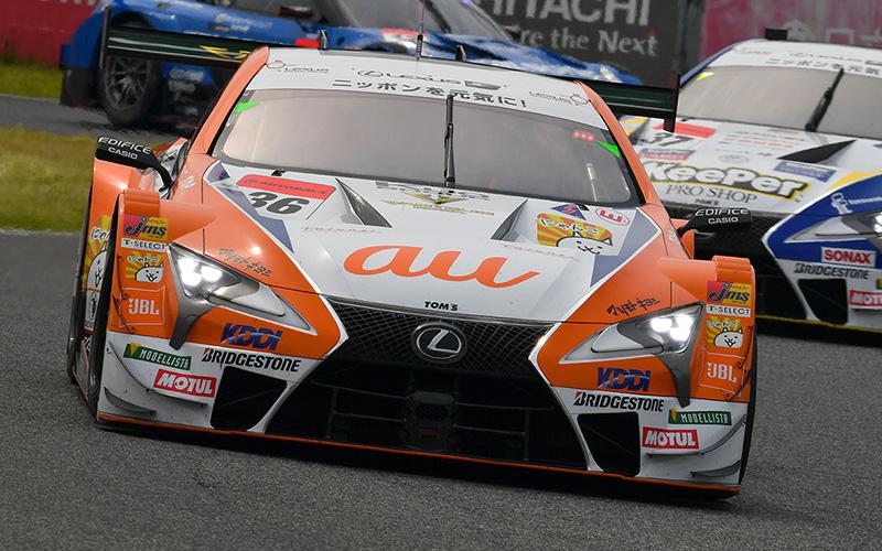 Rd.3 決勝GT500:No.36 au TOM'S LC500がポール・トゥ・ウィン!そしてLC500が表彰台を独占の画像