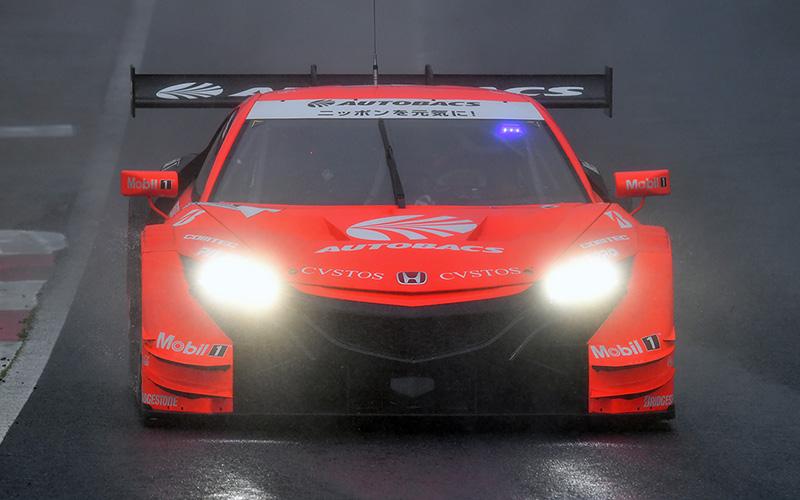 Rd.1 決勝GT500:強雨の中でNSX-GTが快走! ARTA NSX-GTが優勝を掴み獲る!!の画像
