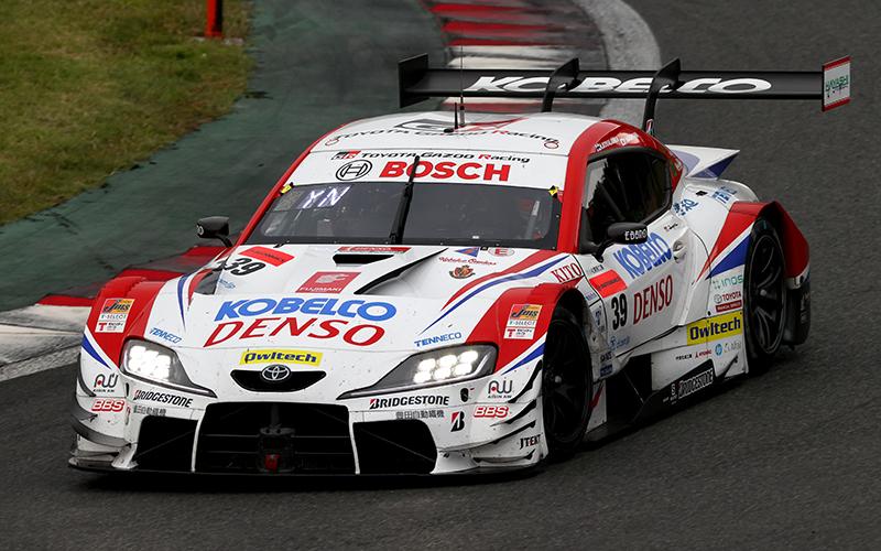 Rd.5 決勝GT500:DENSO KOBELCO SARD GR Supraが逆転優勝!タイヤ交換後の混乱を巧みに抜け出すの画像