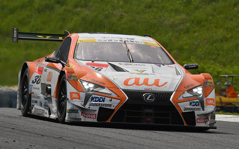 The au TOM'S LC500 Comes From Behind for First Win of the Season!の画像