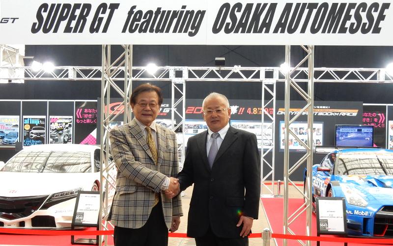 大阪オートメッセは12日まで!新型マシン展示やトーク&エンジン始動と盛りだくさんの画像