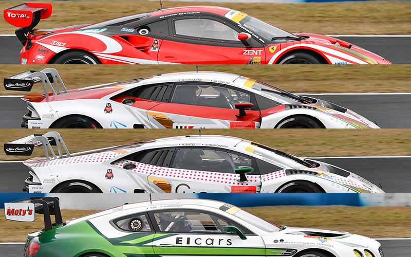 【2017開幕特集】SUPER GTマシン総覧 9 GT300/FIA-GT3(イタリア・イギリス)の画像
