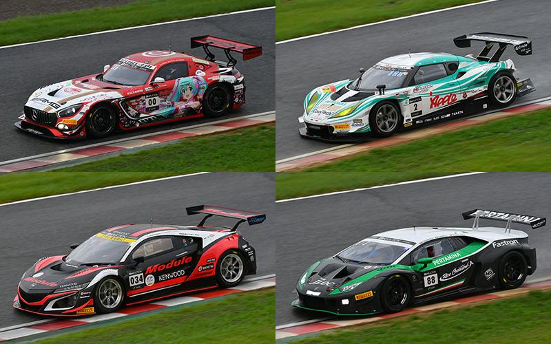 【SUZUKA 10H】SUPER GT関連チーム 出場マシン一覧の画像