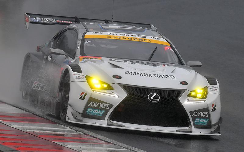 Rd.1 決勝GT300:悪天候の中、K-tunes RC F GT3がチームの地元岡山で優勝を飾る!の画像
