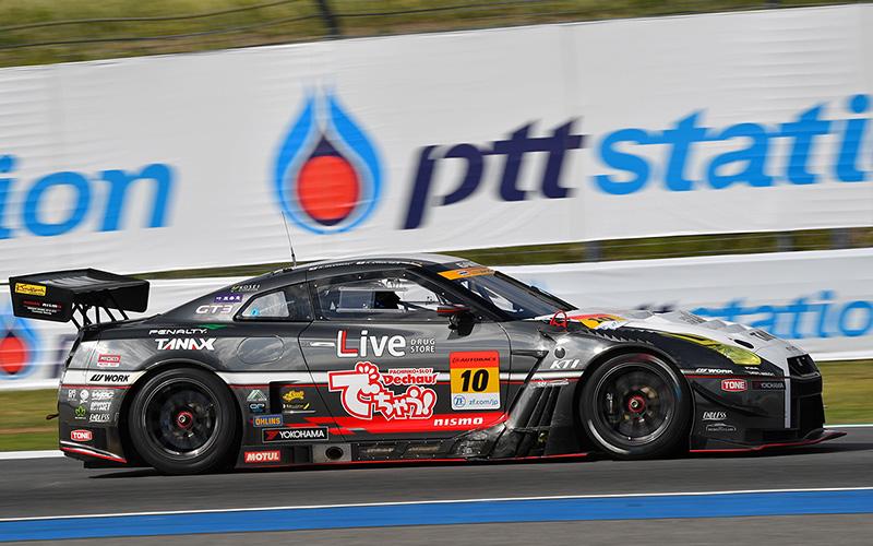 Rd.4 決勝GT300:GAINER TANAX triple a GT-Rがラストラップで劇的な逆転勝利!の画像
