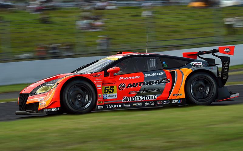 Rd.4 決勝GT300:クールスーツ外して軽量化したARTA CR-Z GTがポール・トゥ・ウインの画像