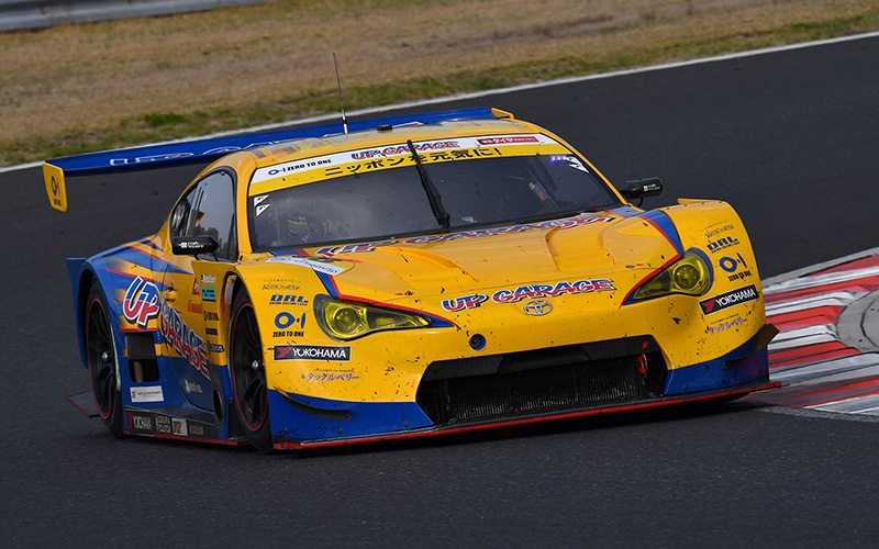 GT300 class victory goes to UPGARAGE 86 MC for the first timeの画像