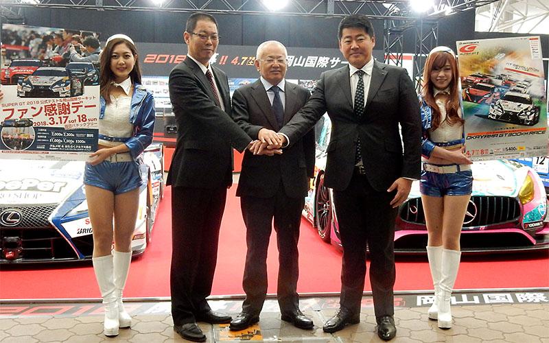 大阪オートメッセ2018が開幕!GTドライバーとマシンに会おう。2/12までの画像