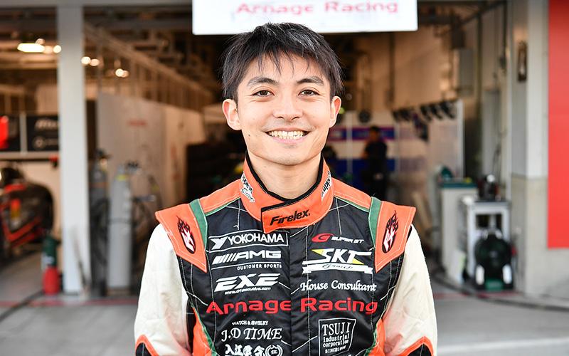 """SUPER GTドライバーの""""ずばり答えましょう!"""" <br>第34回 No.50 EXE AMG GT3/安岡秀徒の画像"""
