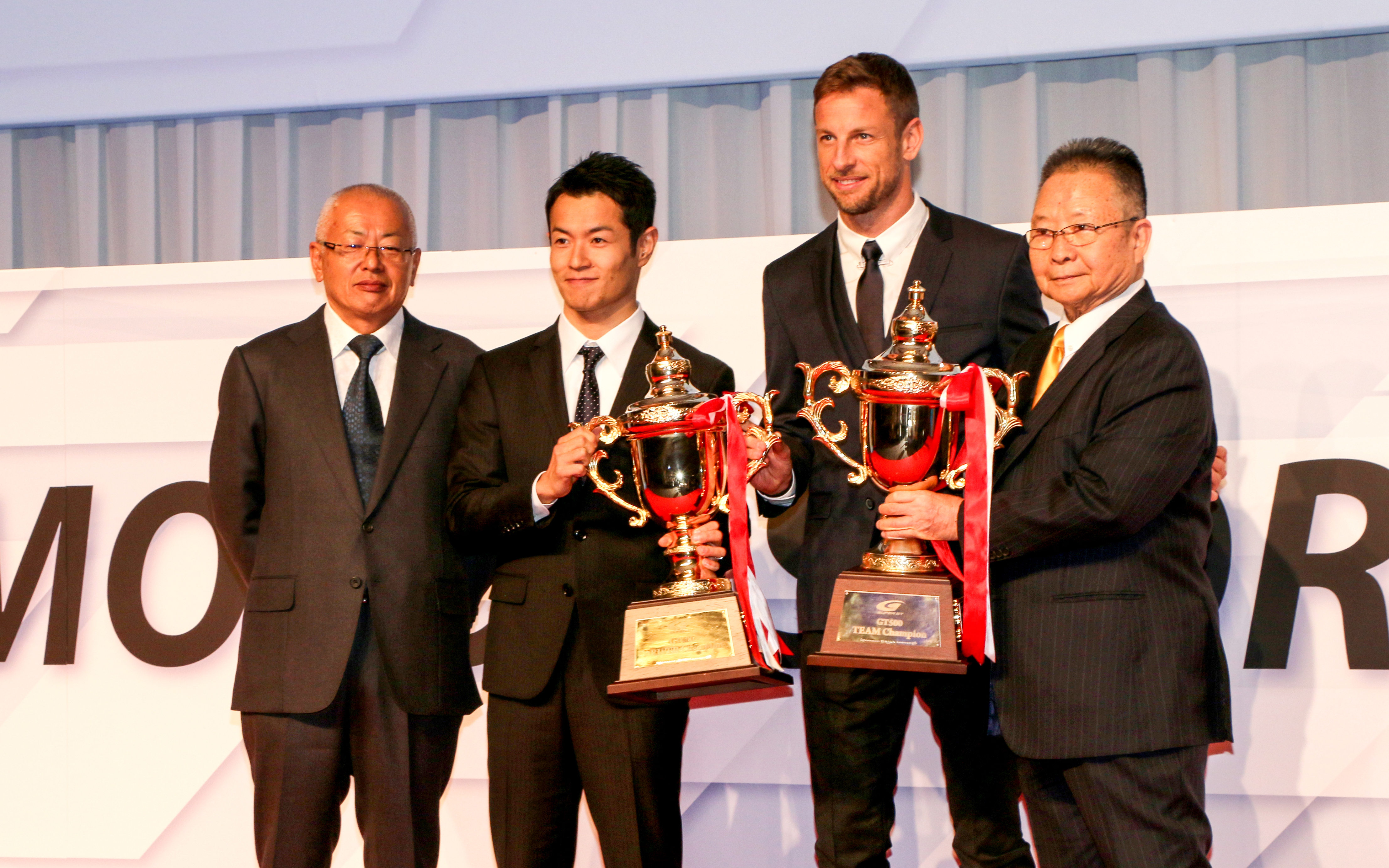 2018 champions receive JAF Champion Cup at JAF Motorsport Award ceremony.の画像