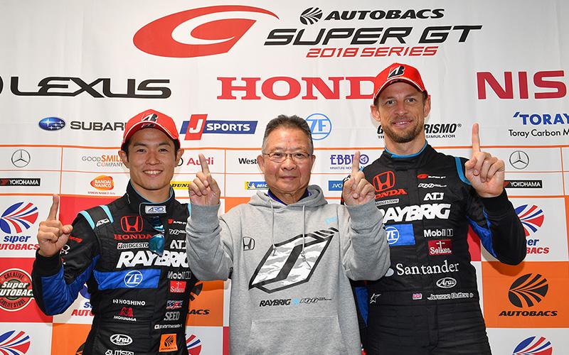 2018 AUTOBACS SUPER GT GT500チャンピオンの画像