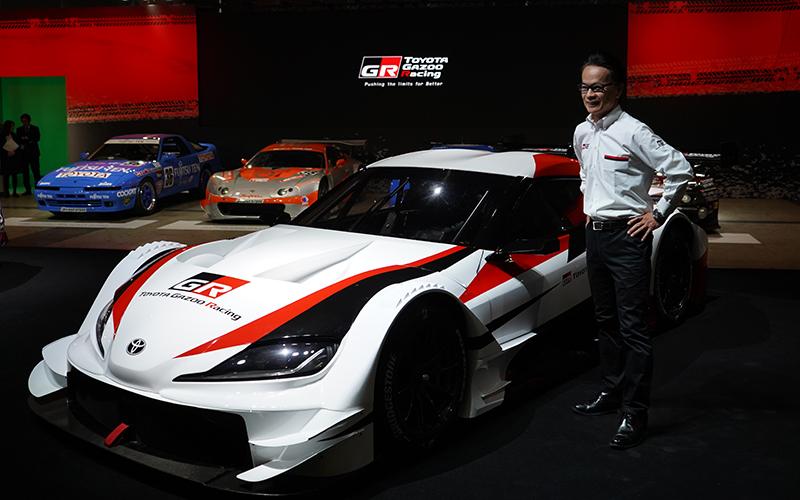 TOYOTA GAZOO Racingが2020年からGRスープラで参戦を東京オートサロンで発表!Hondaは2019年体制を発表。GT300にもフレッシュな顔ぶれが登場の画像