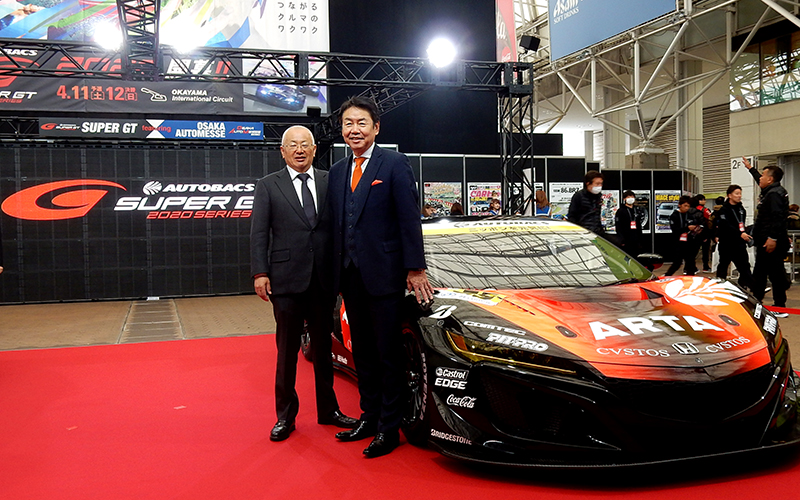 AUTOBACS to be SUPER GT Title Sponsor Again in 2020の画像