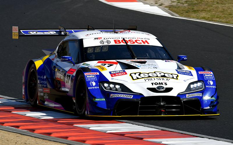 Rd.1 予選GT500:KeePer TOM'S GR Supraが予選制覇!阪口がGT500初のポールポジション獲得の画像