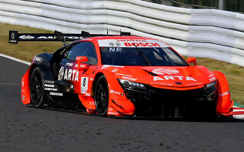 Rd. 6 Qualifying News Flash: ARTA NSX-GT rookie Fukuzumi takes second straight pole position! GT300 pole goes to K-tunes RC F GT3's Sakaguchi in a personal first???