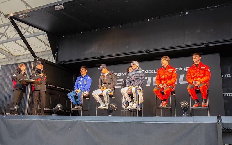 """青空の富士で""""TOYOTA GAZOO Racing FESTIVAL""""開催!4万5500人がLC500最後の勇姿と新型GR Supra GT500のアタックを堪能の画像"""