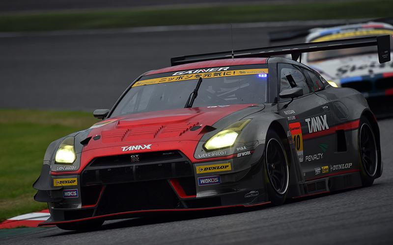 Rd.5 決勝GT300:88kgのハンデを跳ね返しGAINER TANAX GT-Rが今季2勝目!の画像