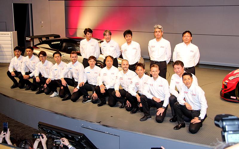 日産/NISMOが今季体制の発表会を開催。新たなドライバーも揃い、本山氏の引退セレモニーも行われるの画像