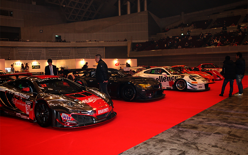 """SUPER GT AUCTION - TAS"" hosted at Tokyo Auto Salon 2020! SUPER GT champion cars put on auction.の画像"