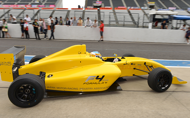 F4 JAPANESE CHAMPIONSHIPの指定タイヤがダンロップタイヤに決定の画像