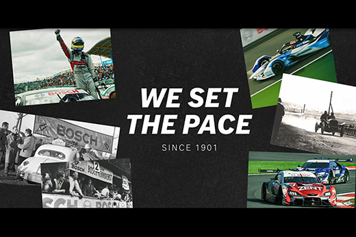 Bosch Motorsport - We set the pace since 1901 (日本語)