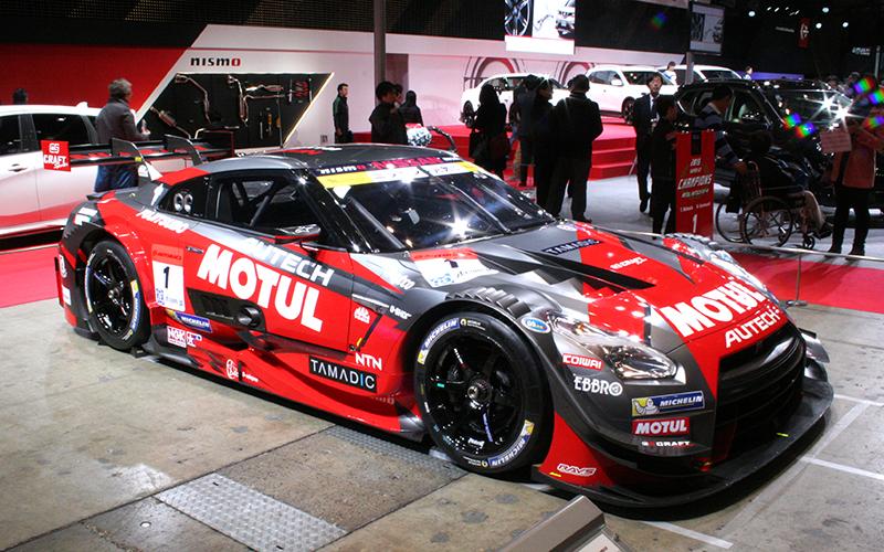 東京オートサロン(1/13-15)でSUPER GTに最接近!マシン&ドライバーが多数参加の画像