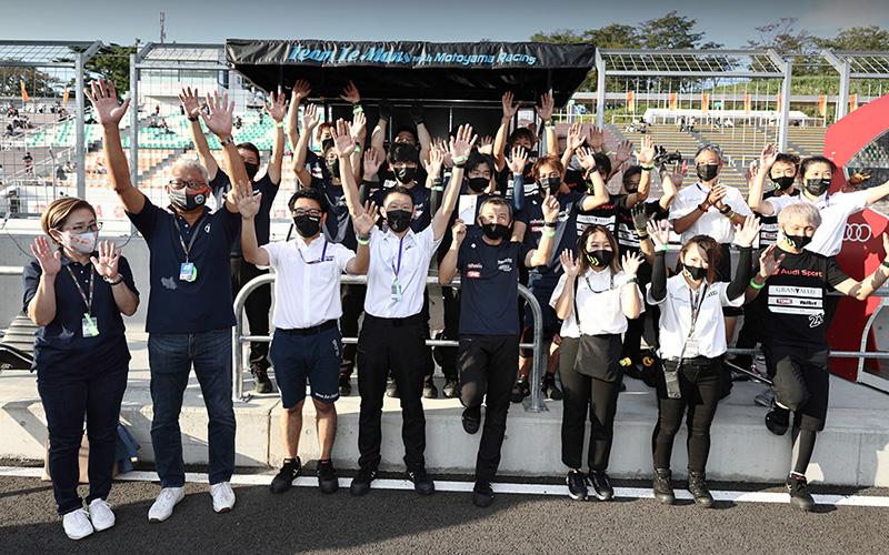 """2021年第5戦の""""ZF Award""""は、GT300クラス No.6 Team LeMans w/MOTOYAMA Racingが受賞の画像"""