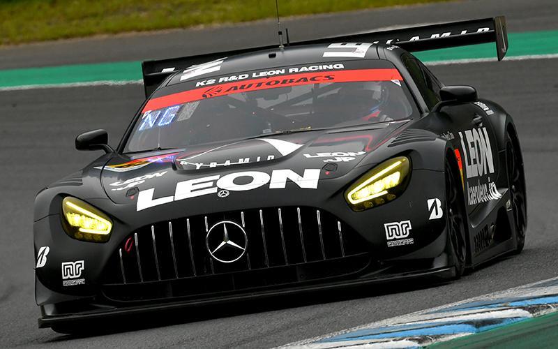 Rd.4 決勝GT300:もてぎを得意とするNo.65 LEON PYRAMID AMGがタイヤ無交換作戦を決めて逆転優勝!の画像