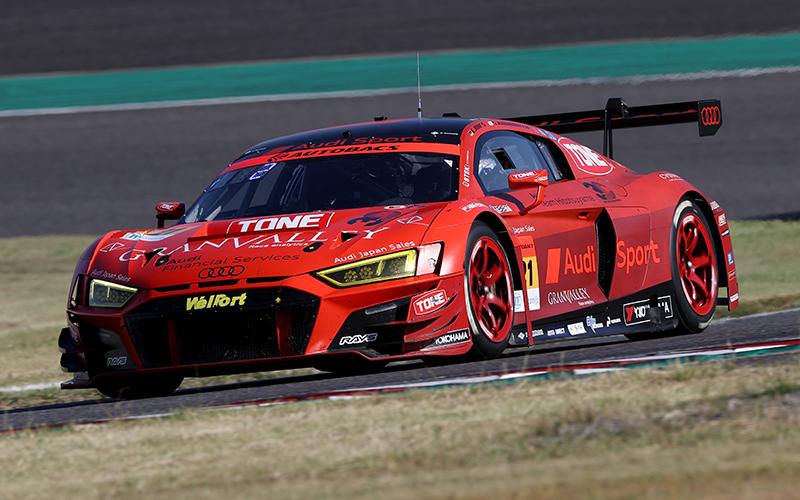 Rd.6 決勝GT300:Hitotsuyama Audi R8 LMSが逆転勝利!川端&近藤が嬉しい初優勝を飾るの画像