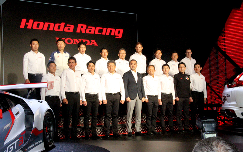 Button joins TEAM KUNIMITSU! Honda announced 2018 plan. ARTA and new GT300 team are in.の画像