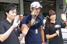 ZF SUPER GTファンレポーター2015・鈴鹿編